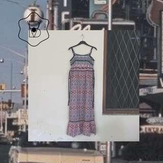 Dress panjang batik Panduwinata