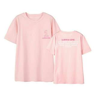 Kaos Lengan Pendek Wanna One T-Shirt Tumblr Tee Baju Fashion Wanita Murah