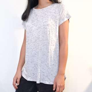 Light Grey high low shirt