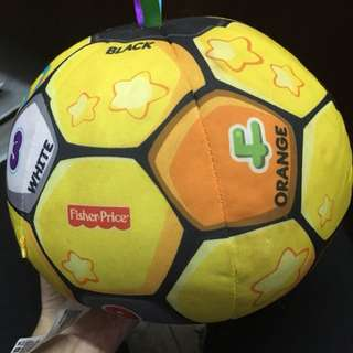 Fisher Price Laugh&Learn singing soccer ball