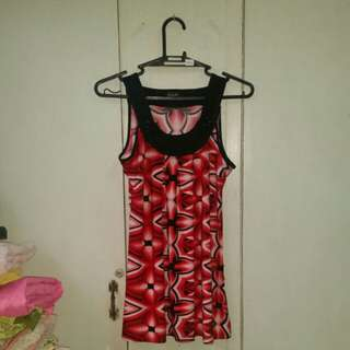 REPRICED!!Red Black Dress for 60