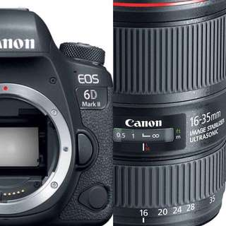 Bundle Canon 6D mkii with Canon 16-35L F4 lens