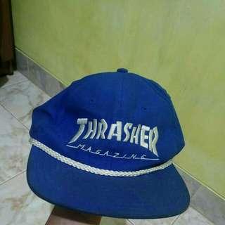 Thrasher cap.