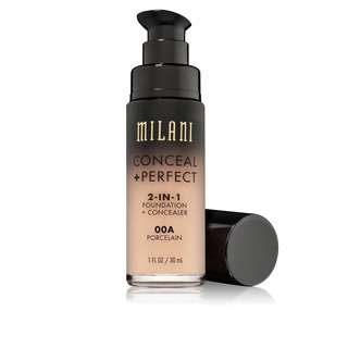 🚚 [INSTOCK] Milani Conceal + Perfect 2-in-1 Foundation + Concealer (00A Porcelain)