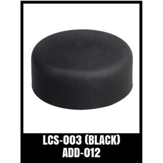 GP SILICONE LENS COVER LCS-003 (BLACK)