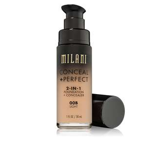 [INSTOCK] Milani Conceal + Perfect 2-in-1 Foundation + Concealer (00B Light)