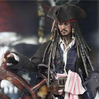 1/6 Hot Toys Jack Sparrow DX 06