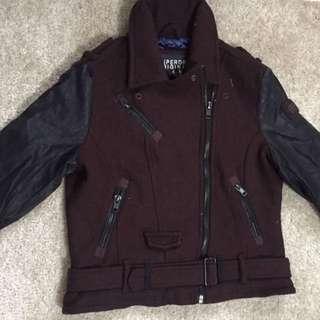 Superdry極度乾燥男裝機車外套Jacket coat