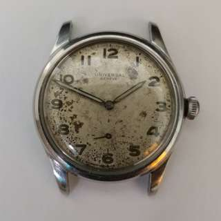 Vintage Universal Geneve Military Manual Watches 小三針 古董軍錶