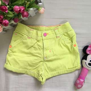 Carters neon cute shorts