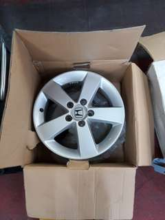 "Original Honda Civic 16"" Rims"