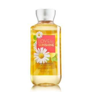 Bath and Body Works Love & Sunshine Shower Gel 295ml