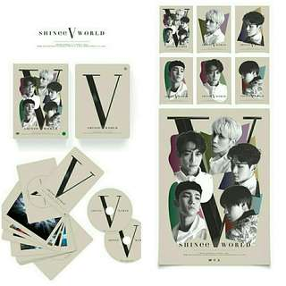 SHINEE - World V In Seoul DVD