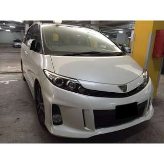 02/03-05/03/2018 TOYOTA ESTIMA 3.5 FACELIFT ONLY $390.00 (P PLATE WELCOME)