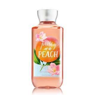 Bath and Body Works Pretty as a Peach Shower Gel 295ml