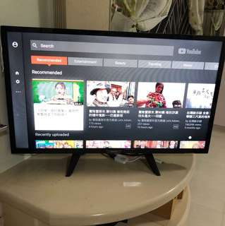 Philips smart tv 32""