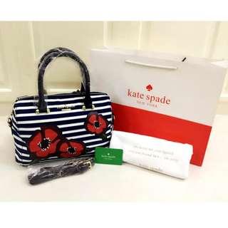 Embroided Kate Spade Hand Bag