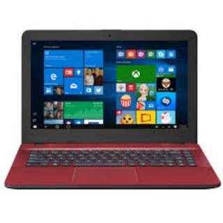 """Asus VivoBook Max X441U-VWX279T 14"""" Laptop Red (I3-6100U, 4GB, 1TB, GT920MX 2GB, W10H )"""