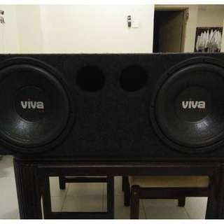 Subwoofers/Speakers/Amplifiers/Tweeters/Crossovers
