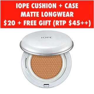 IOPE Cushion + Case
