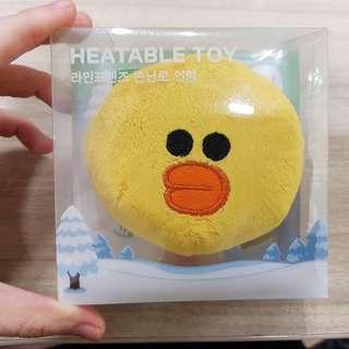 BNIP LINE Friends Heatable Toy