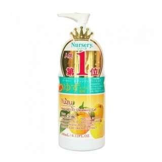 日本COSME大賞 Japan Yuzu Make Up &UV Cleansing Gel 柚子卸妝 150ml
