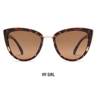Quay Australia My Girl Brown/Tortoise Shell Sunglasses