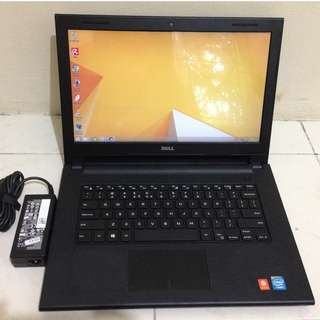 Laptop Dell Inspiron 3422 Celeron Mulus