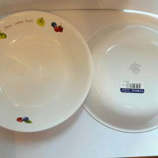全新康寧 醬油碟 小食碟 2隻 美國製造