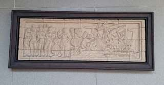 Stone Relief Display