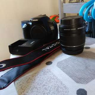 Canon eos 1100d with efs 18-55 IS II