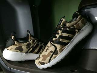 Adidas Cloudfoam Camo Brown