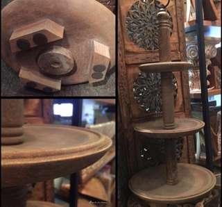 (清貨)50%off India Handmade cake stand/stand/party/decoration