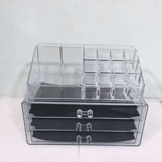 3 Layer Make Up Organizer