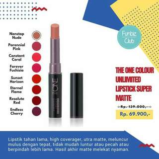Oriflame The ONE unlimited Super Matte Lipstick