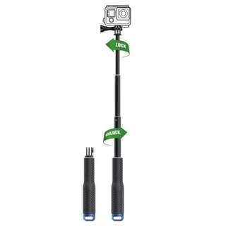 GoPro Aluminum Extendable Pole Stick Telescopic Handheld Monopod for GoPro Hero 6 5 4 3+ 3