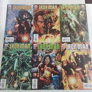 Iron Man Hypervelocity (2007) Comics Set