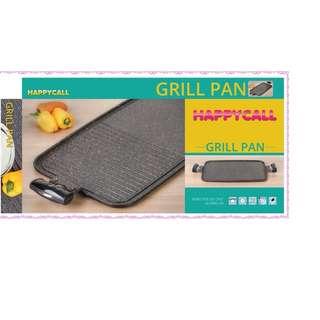 Grill Pan HC asli Korea - Alat Panggang Daging Sayur Tidak Lengket