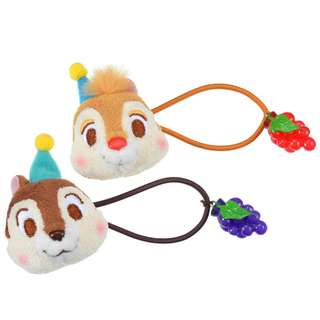 Japan Disneystore Disney Store Hello Chip and Dale Hair Pony Preorder