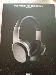 KEF PORSCHE DESIGN- SPACE ONE active noise cancelling headphones
