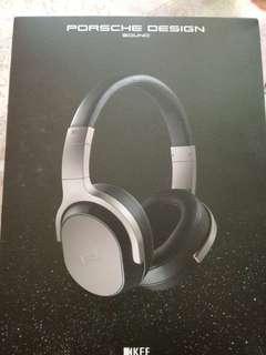 KEF PORSCHE DESIGN- SPACE ONE active noise cancelling headphones