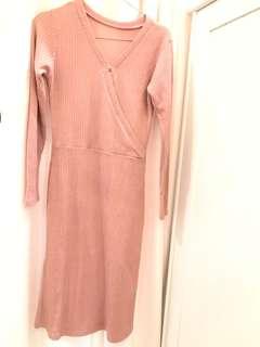 Dress Korean Pink