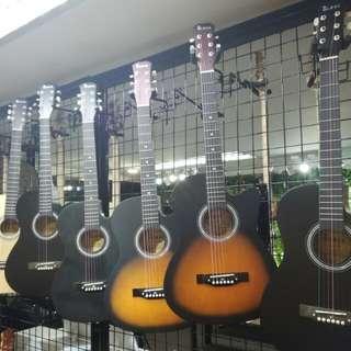 "Brand New Taloha guitar 38"""
