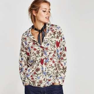 NEW Zara Oversized Blouse