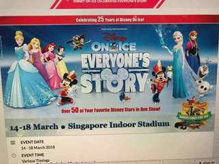WTS Disney on Ice tickets