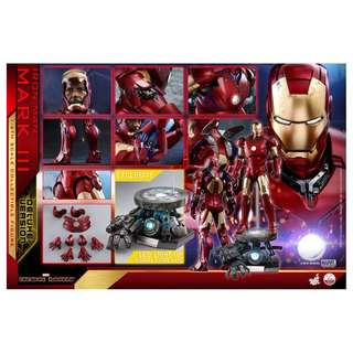 Pre-Order for Quarter Scale QS012 - Iron Man - Mark III (Deluxe Version)