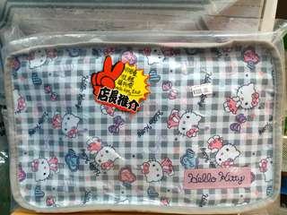 Sanrio Hello Kitty 可摺疊拉轆手拉車購物袋 Foldable Trolley Bag