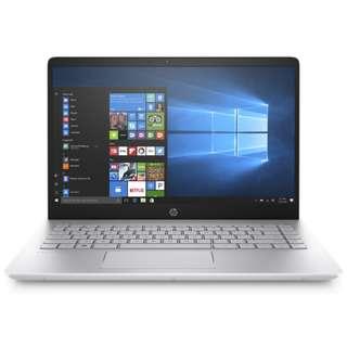 "HP Pavilion 14-Bf166TX 14"" FHD Laptop Gold (I5-8250U, 4GB, 256GB, GT940MX 4GB, W10)"