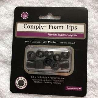 Comply Foam T500 black L 5 pairs
