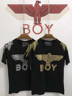 Winged Boy London Logo Tee